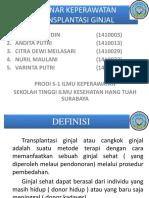 10 Transplantasi Ginjal Kelompok10