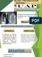 Direccion y Gerencia XXI