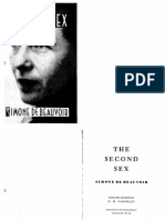Second Sex - De Beauvoir, Simone