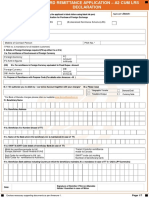 Bob Outward Remittance Non Imports Application Form