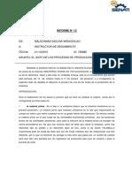 Informe n 13