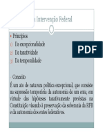 DC II - Tema 8 - Da Interven o Federal e Defesa Do Estado