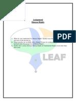 Assignment (HR) - LEAF