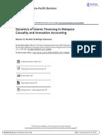 (2011) Dynamic of Islamic Financing in Malasia
