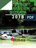 Folleto pesca continantal Bizkaia 2018