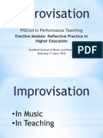 Improvisational Mindset Slides