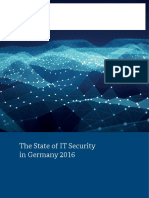 IT Security Situation in Germany 2016