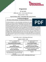 ENGLISH BB Programme