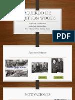 Acuerdo de Bretton Woods