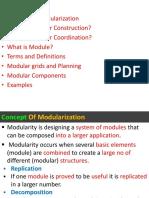 Modular Coordination 1