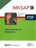 MKSAP 17 Endocrinology and Metabolism PDF
