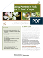 Minimizing Pesticide Risk to Bees in Fruit Crops (E3245)