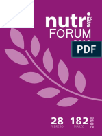 Nutriforum Memorias 2018.Compressed