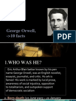 George Orwell, 10 Facts