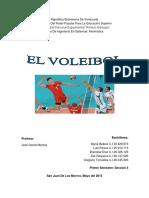 El Voleibol - Informe Seccion 4.docx