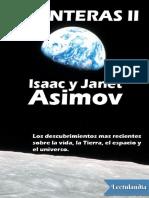 Fronteras II - Isaac Asimov