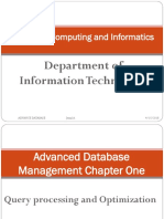 Advance Database Chapter 1-1