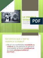 3 La Violence Scolaire Ppt