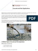 23 Different Types of Concrete and Their Applications