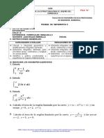 PRUEBA DE II UNIDAD MATEMATIICA 2017 - I (2).doc