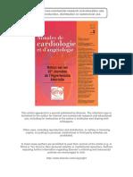 Carotide Plaques Popmetre ANCAAN 2013