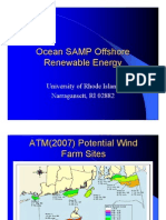 RI Ocean Special Area Management Plan (SAMP)