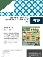 Legislacion de Cooperativas en Chile - Historia de La Ley - Analisis Ley