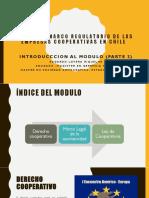Marco Legal General de las Cooperativas en Chile
