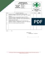 Daftar Tilik Panduan Pjb