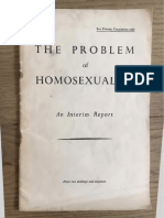 The Problem of Homosexuality