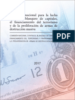 Estrategia Nacional de Riesgo de La Republica de Panama