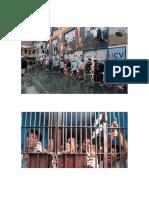 Carceles en El Peru