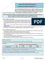 2012 Cec Sepsis Adult First Dose Empirical IV Ab Guideline v2 1