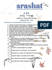 Parashat Ajarei - Qadoshim #29-30 Adol 6018