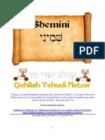 Parashat Shemini # 26 Adul 6018