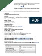 ELPM-03-WL Instructiuni de Utilizare