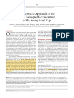 A Systematic Approach to the Plain Radiographic Evaluation of the Young Adult Hip - JBJS 2008