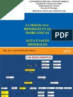 Biomoleculas Inorganicas