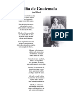 La Niña de Guatemala Poema