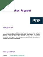 Analisis Bahan Pegawet