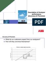 Analyzers Accuracy