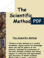 8 - The Scientific Method - Summary