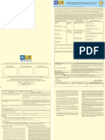 LIC s 20 Yrs MB Low File