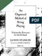 Janos Starker Cello School Technique