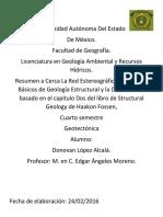 Geología Estructural.