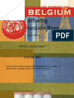 2015 AHA Brewing Session Beer