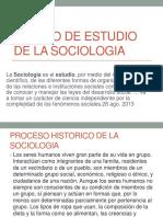 Objeto de Estudio de La Sociologia Importancia Evolucion Historica 3 3