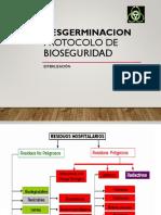 Desgerminacion y Bioseguridad