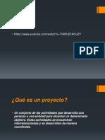 Qué es un proyecto