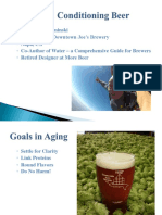 Conditioning and Aging Beer